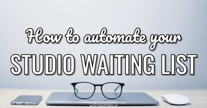 How to set up a piano studio waiting list