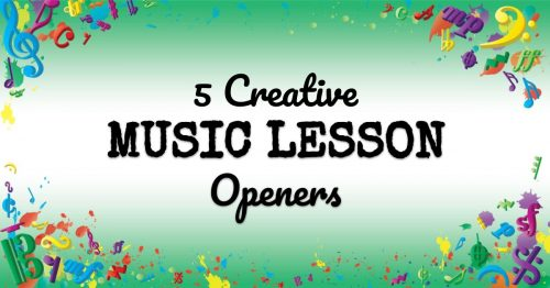 VMT064 5 Creative Music Lesson Openers