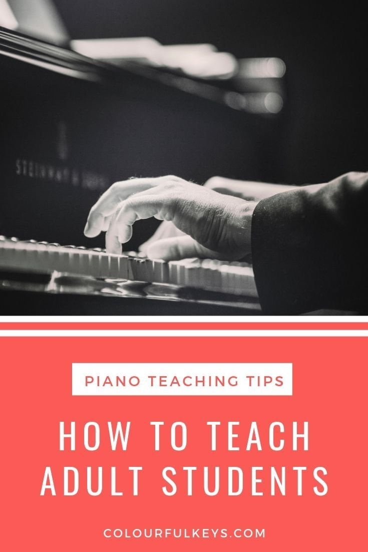 The Perfect First Lesson with an Adult Piano Student