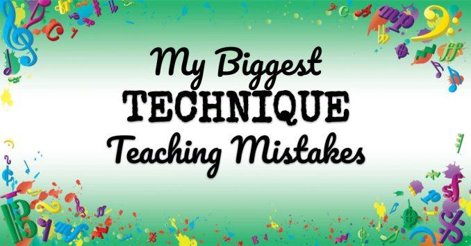 VMT066 My Biggest Technique Teaching Mistakes