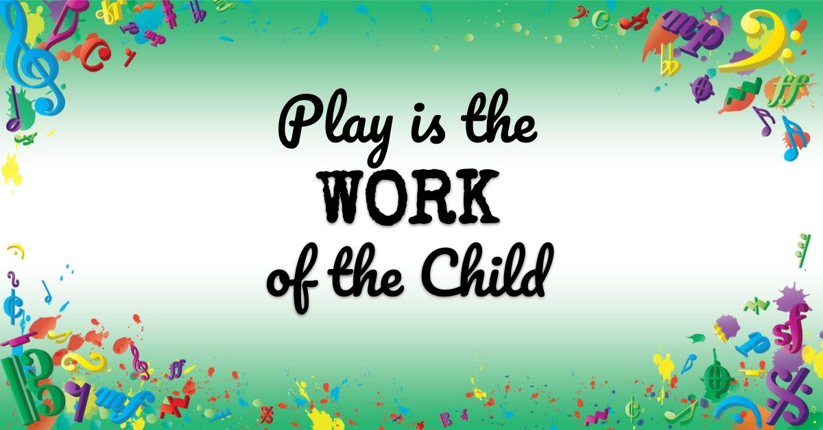VMT067 Play is the Work of the Child