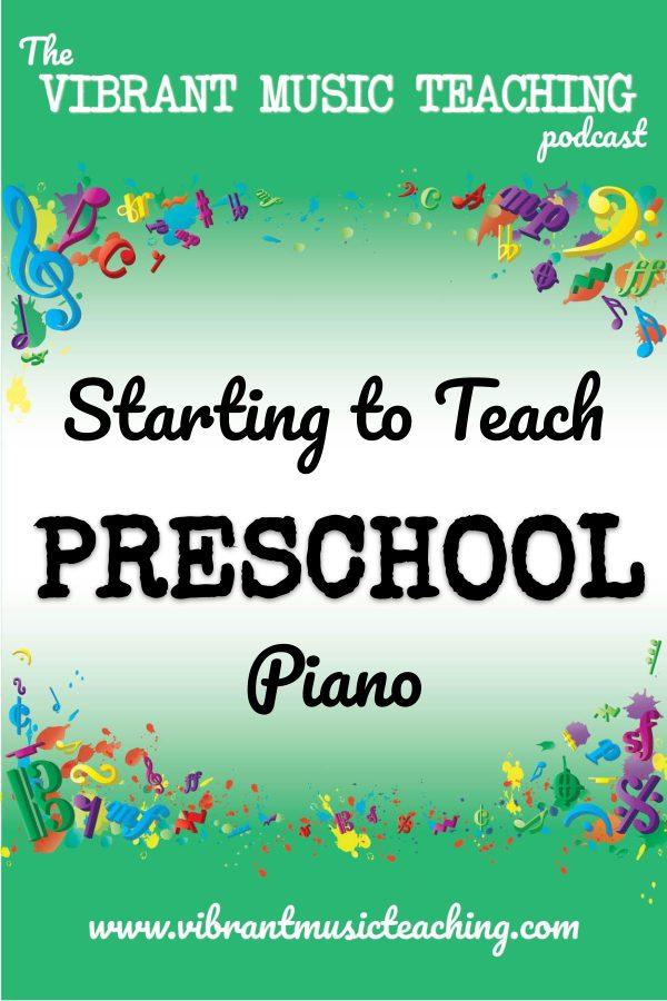 VMT068 Starting to Teach Preschool Piano portrait