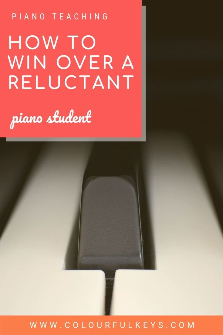 How to Win Over a Reluctant Piano Student