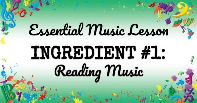 VMT072 Essential Music Lesson Ingredient No 1