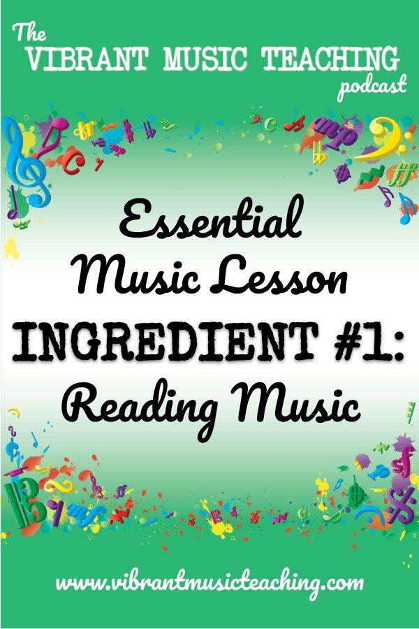 VMT072 Essential Music Lesson Ingredient No 1 portrait