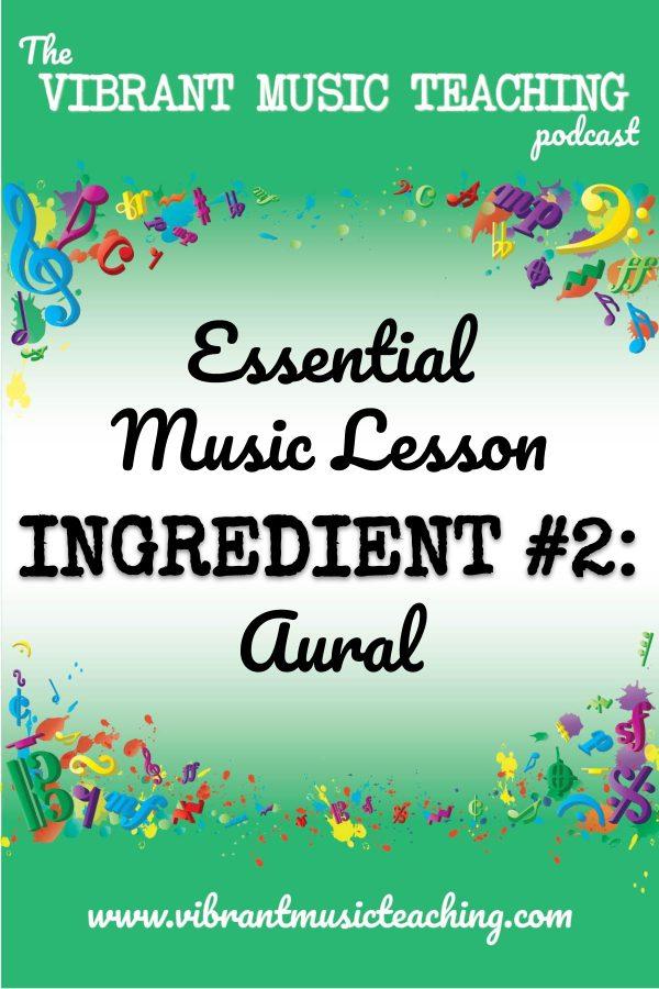 VMT073 Essential Music Lesson Ingredient No 2 portrait