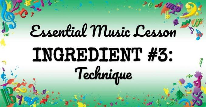 VMT074 Essential Music Lesson Ingredient No 3
