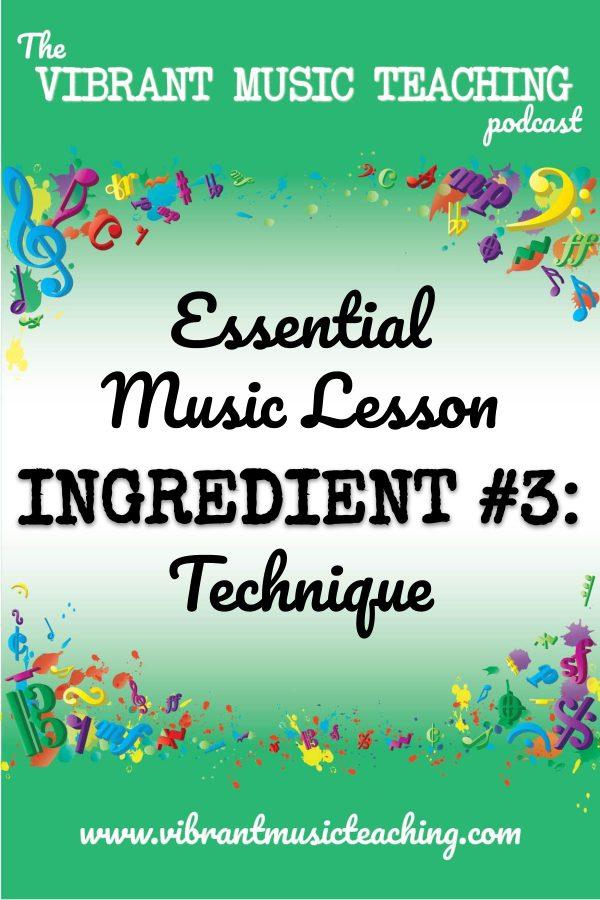 VMT074 Essential Music Lesson Ingredient No 3 portrait