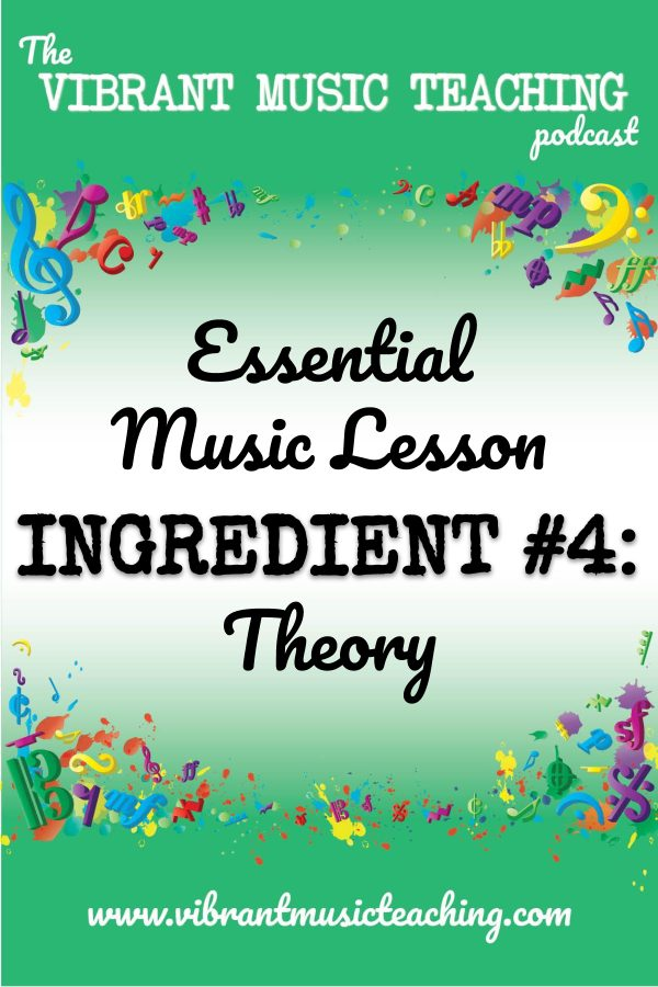 VMT075 Essential Music Lesson Ingredient No 4 portrait