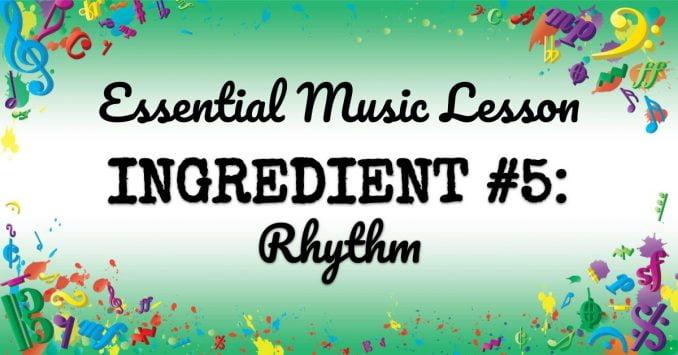 VMT076 Essential Music Lesson Ingredient No 5
