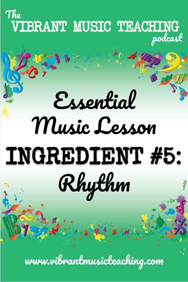 VMT076 Essential Music Lesson Ingredient No 5 portrait