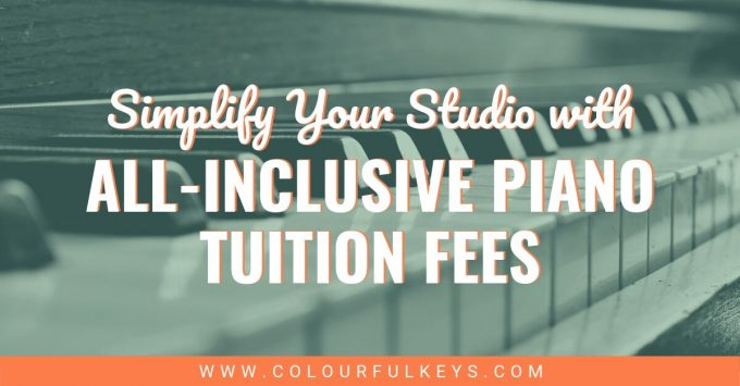 Simplify Your Studio with All Inclusive Piano Tuition Fees 2