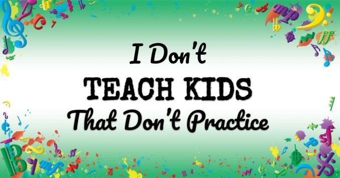 VMT080 I Don't Teach Kids That Don't Practice