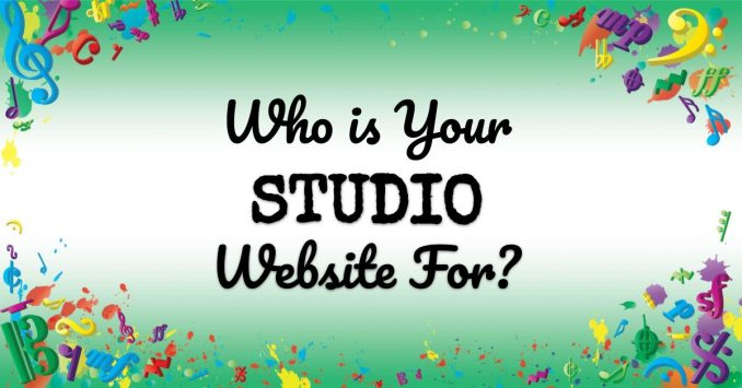 VMT084 Who is Your Studio Website For
