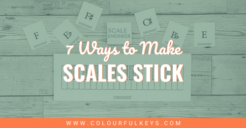 7 Ways to Make Scales Stick