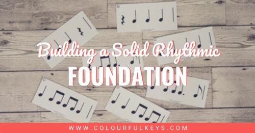Building a Solid Rhythmic Foundation