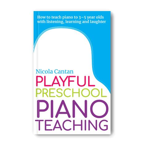 Playful Preschool Piano Teaching