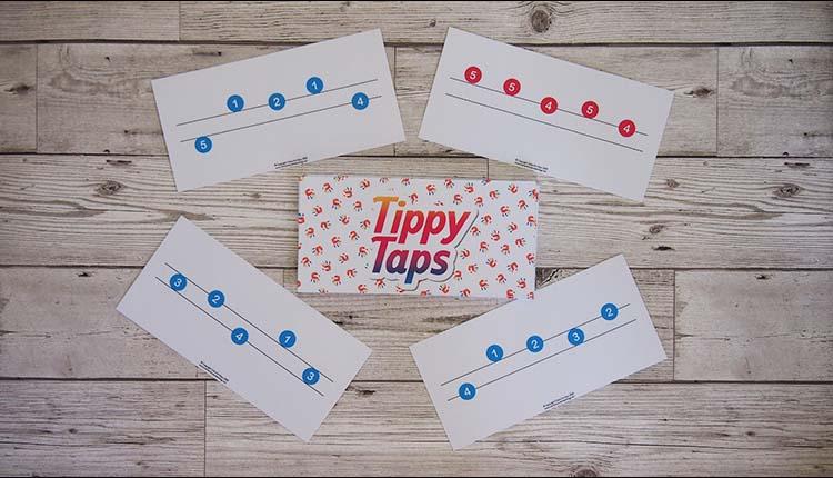 Tippy Taps finger number game