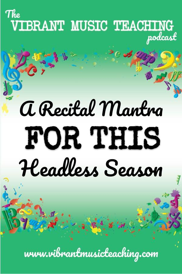 VMT086 A Recital Mantra for This Headless Season portrait