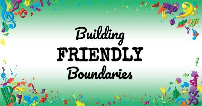 VMT087 Building Friendly Boundaries