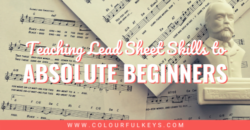 How to Teach Lead Sheet Skills to Absolute Beginners facebook 1