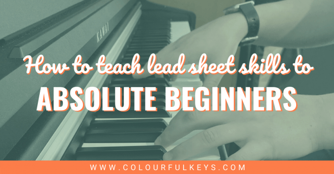 How to Teach Lead Sheet Skills to Absolute Beginners facebook 2