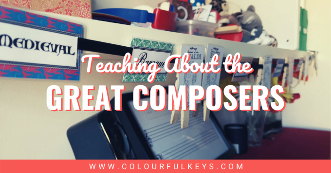 Teaching about the Great Composers