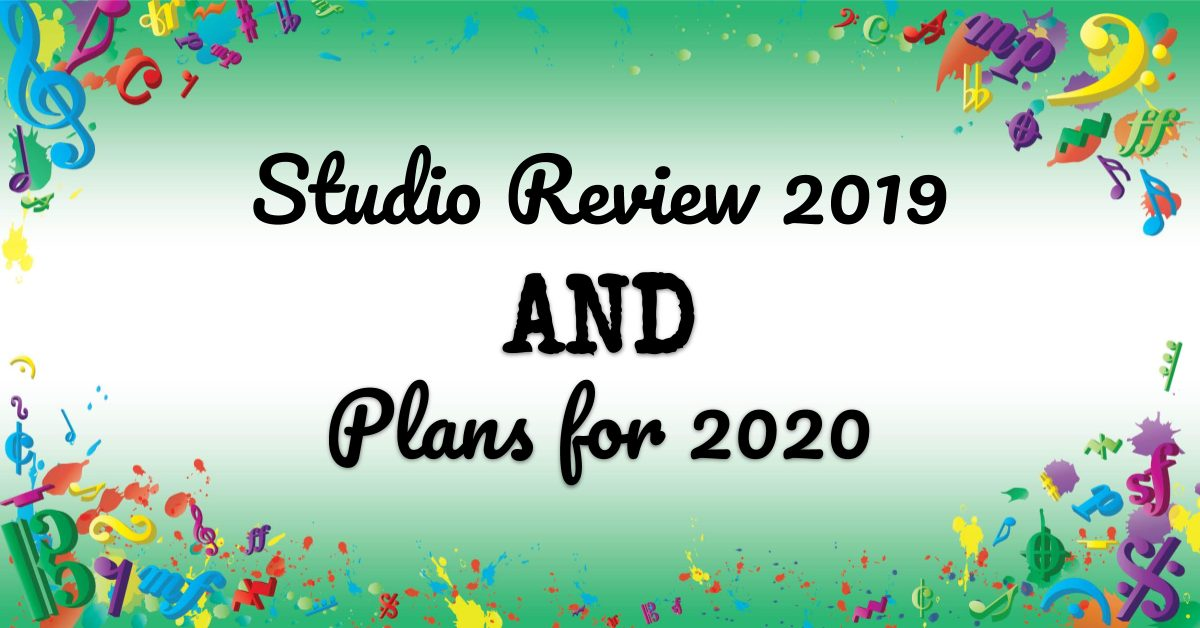 VMT093 Studio Review 2019 and Plans for 2020