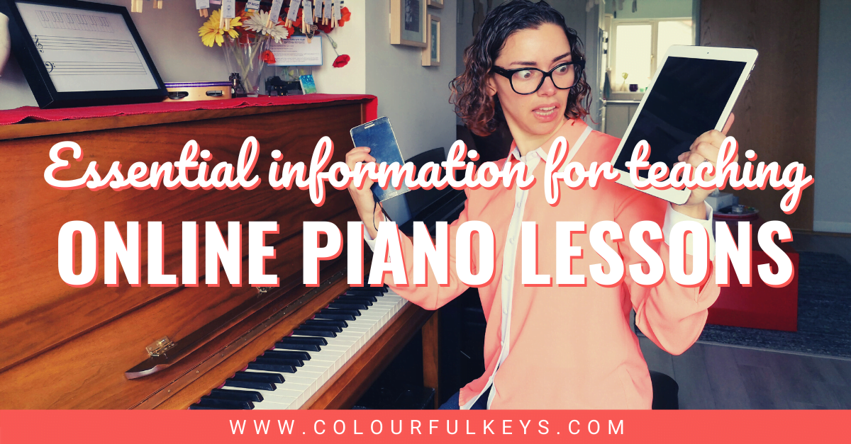 Your Essential Guide to Teaching Piano Online