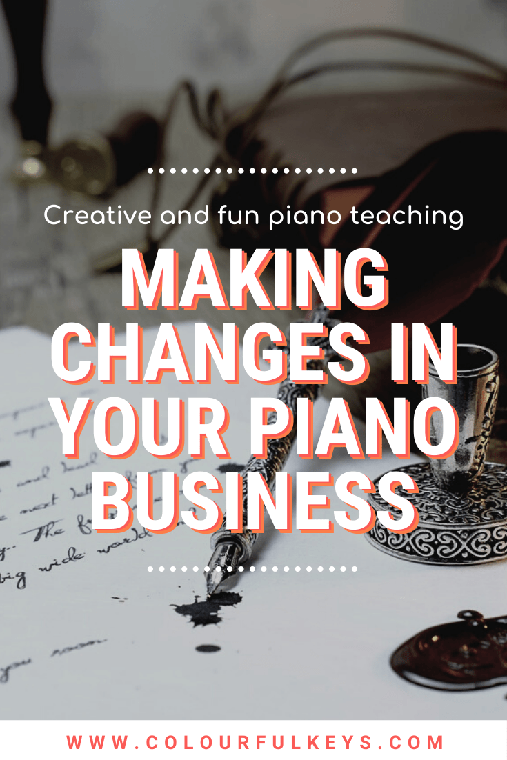 How to Make Any Change in your Piano Teaching Business pinterest 4