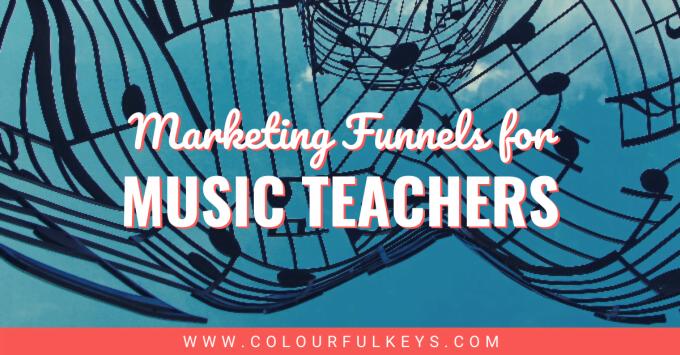 Music Teacher Marketing Funnel