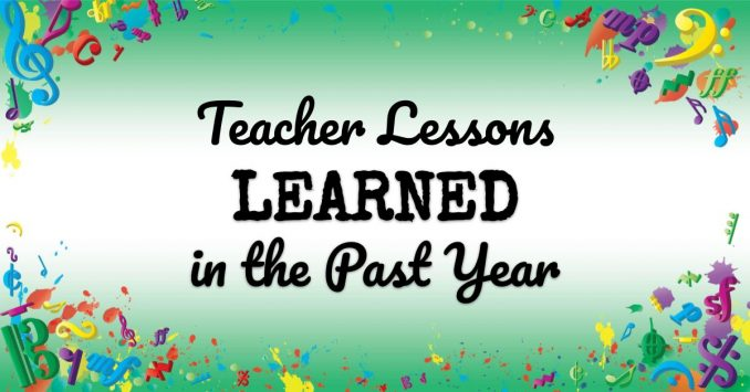 VMT100 Teacher Lessons Learned in the Past Year