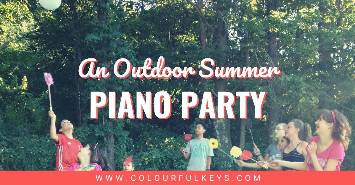 An Outdoor Summer Piano Party facebook