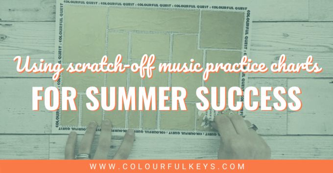 Scratch-off Music Practice Charts for Summer Success facebook 2