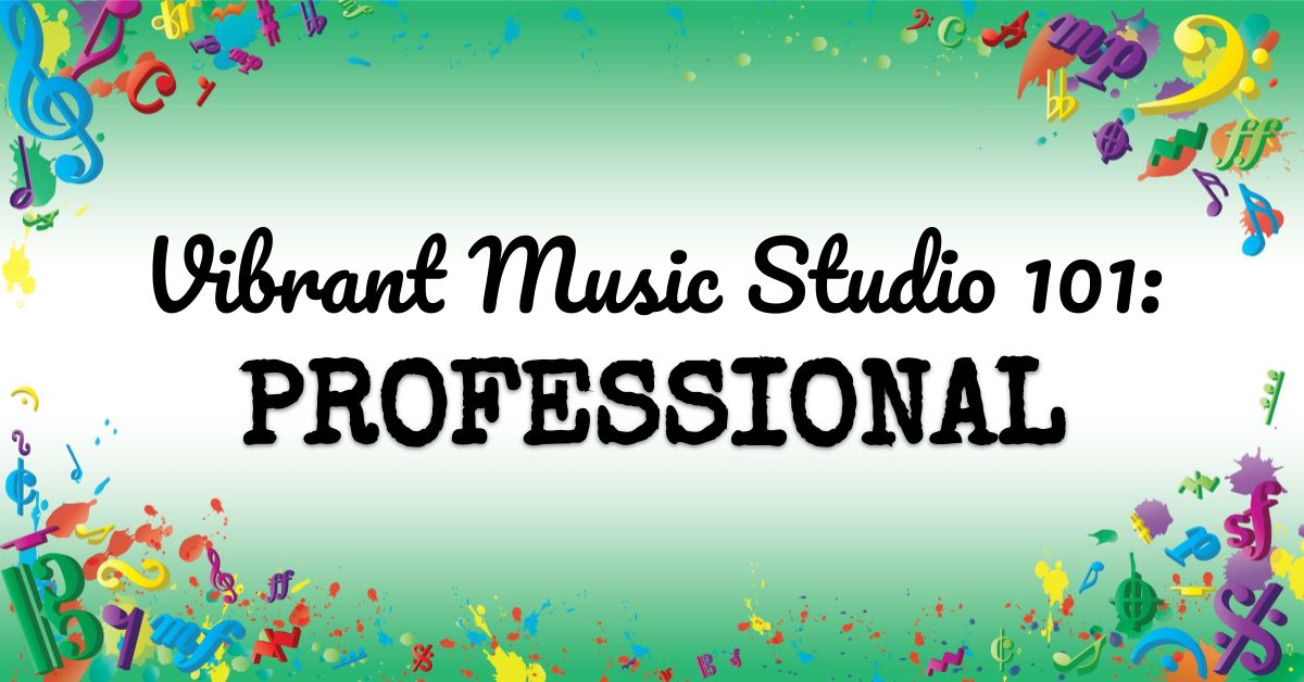 VMT105 Vibrant Music Studio 101 Professional