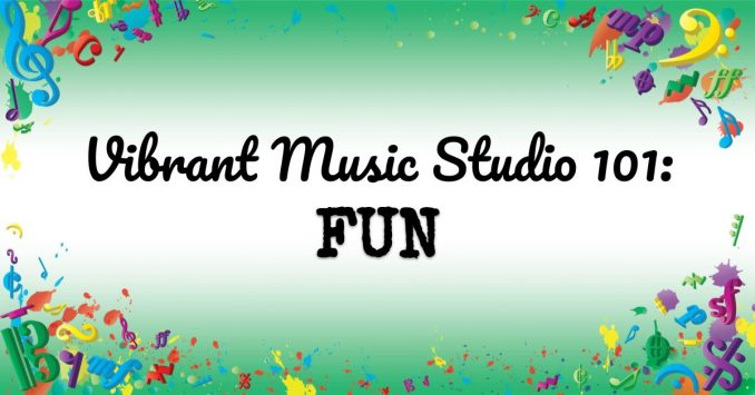 VMT107 Vibrant Music Studio 101 Fun
