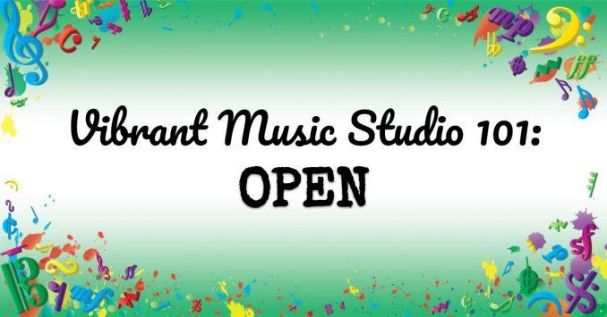 VMT108 Vibrant Music Studio 101 Open