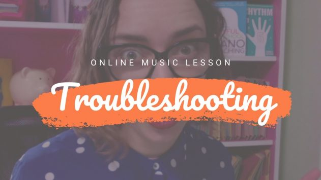 Troubleshooting Zoom Piano Lessons