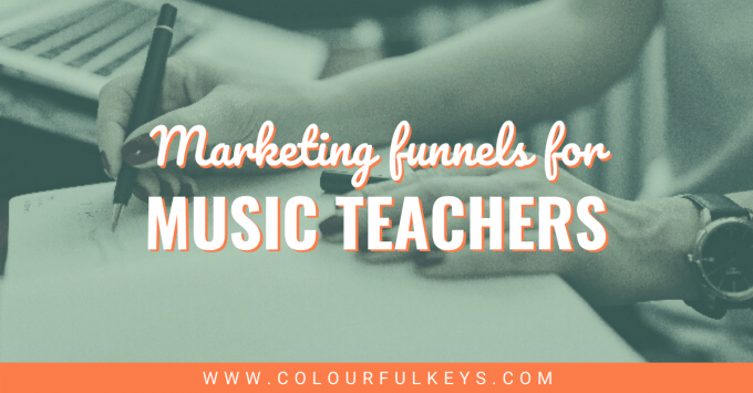 Marketing Funnels for Music Teachers facebook 2