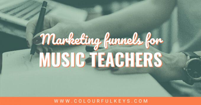 Marketing Funnels for Music Teachers facebook 2