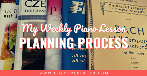 My Weekly Piano Lesson Planning Process facebook 1