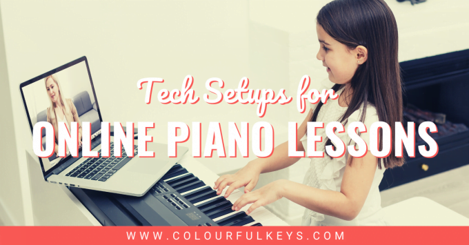 Tech Setups for Online Piano Lessons