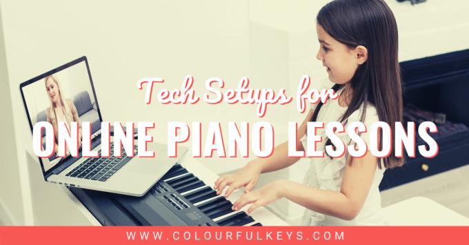Tech Setups for Online Piano Lessons