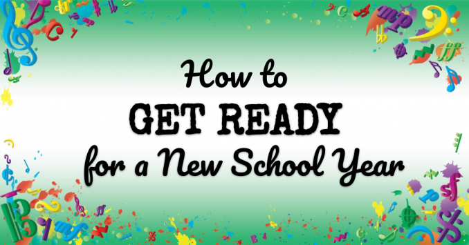 VMT111 How to Get Ready for a New School Year
