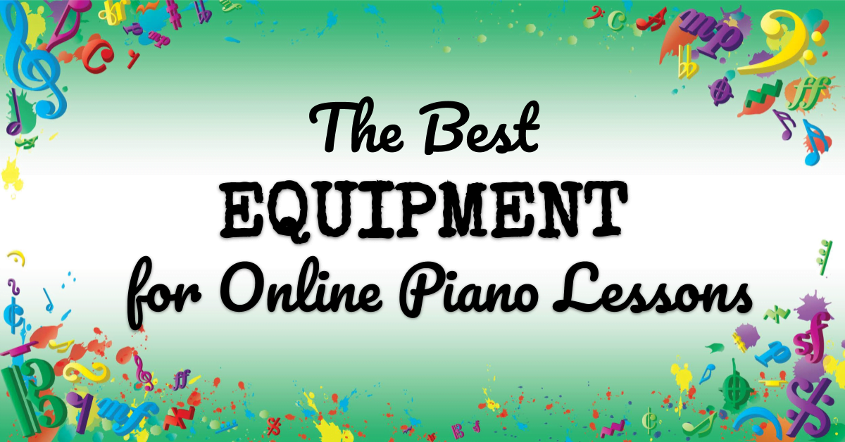 VMT112 The Best Equipment for Online Piano Lessons