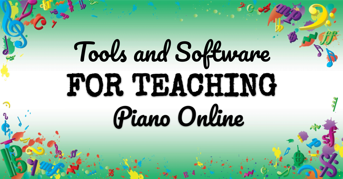 VMT113 Tools and Software for Teaching Piano Online
