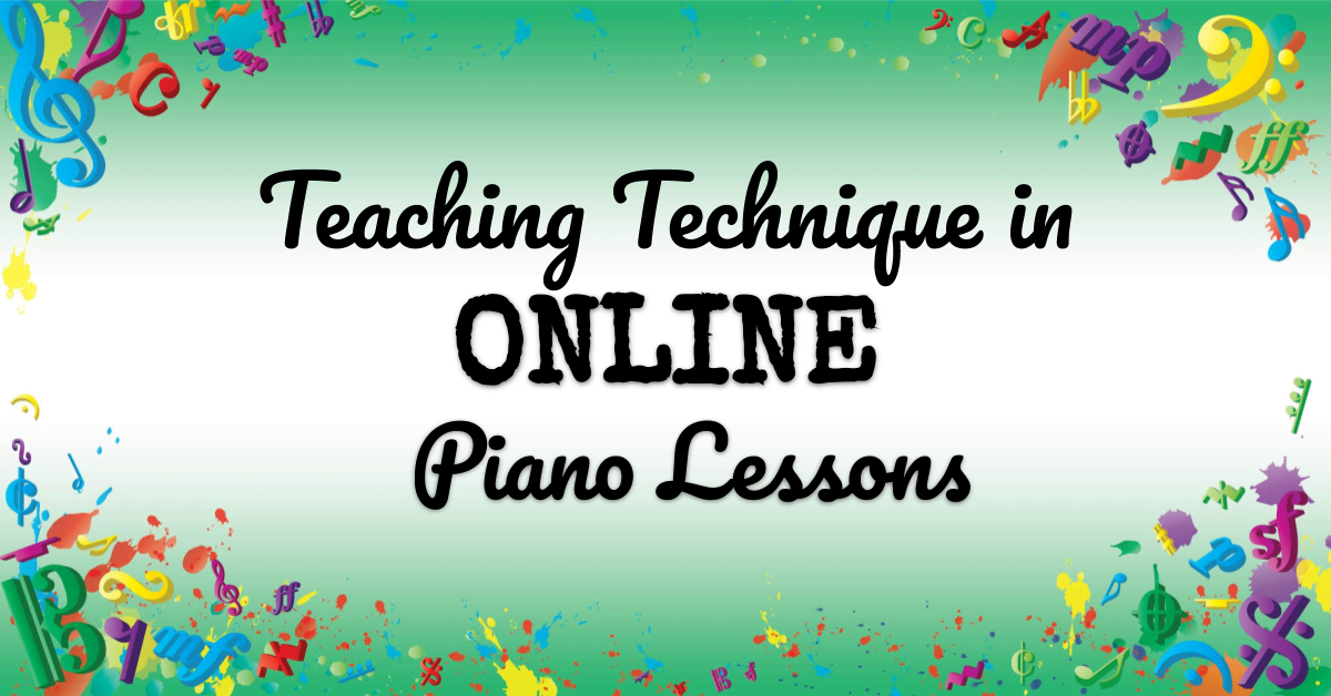 VMT118 Teaching Technique in Online Piano Lessons
