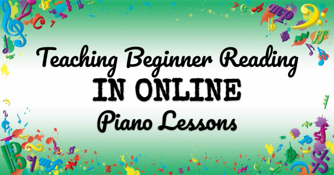 VMT120 Teaching Beginner Reading in Online Piano Lessons