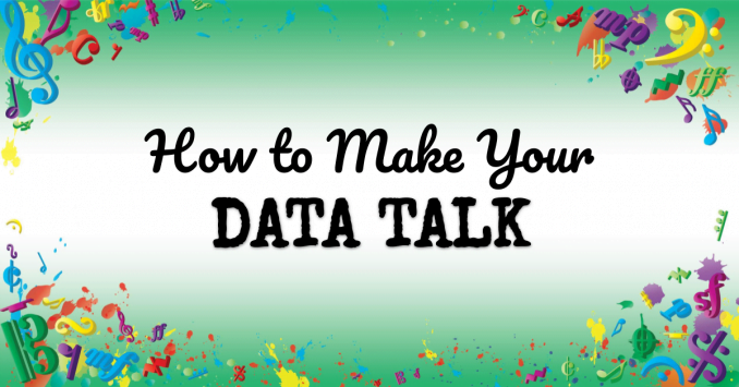 VMT121 How to make your data TALK portrait
