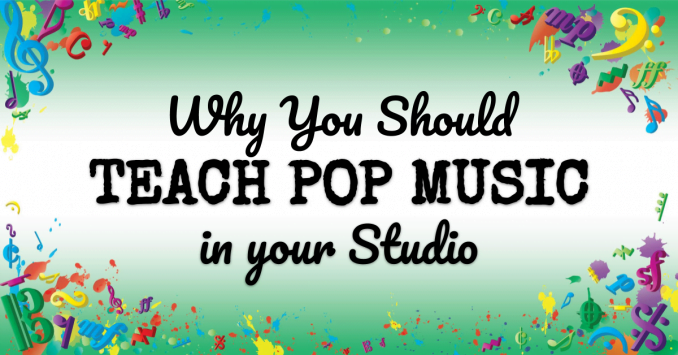 VMT122 Why you should teach pop music in your studio